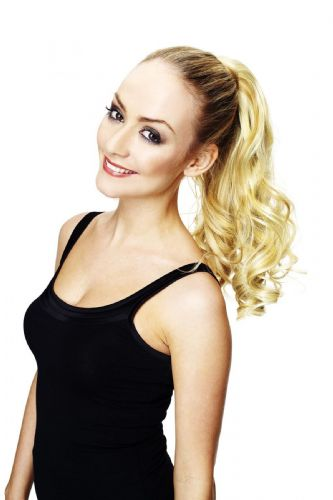 Scarlett Velcro Tongable Synthetic Ponytail Hair Couture